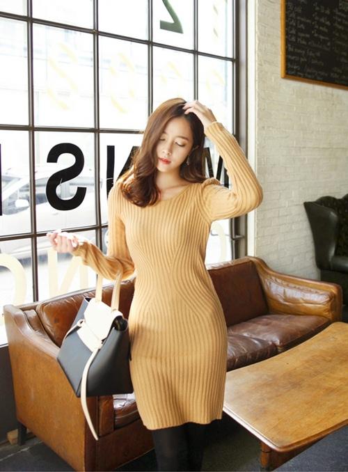 Váy len: Chiếc váy phải có của mùa này! - 5