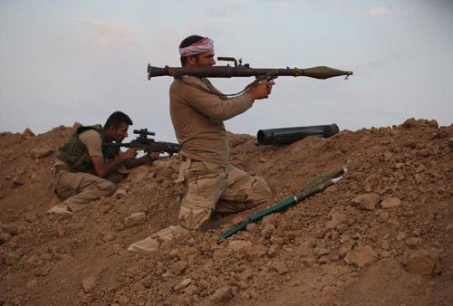 Người Kurd đồng loạt phản công IS trên toàn Iraq - 1