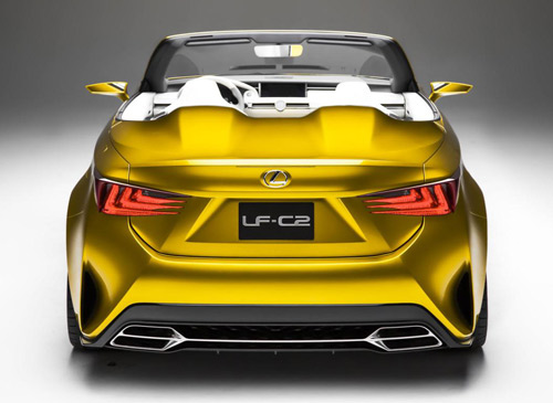Lexus LF-C2 ra mắt tại triển lãm Los Angeles - 5