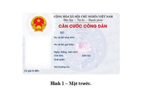 Không cấp thẻ căn cước công dân cho trẻ dưới 14 tuổi - 1