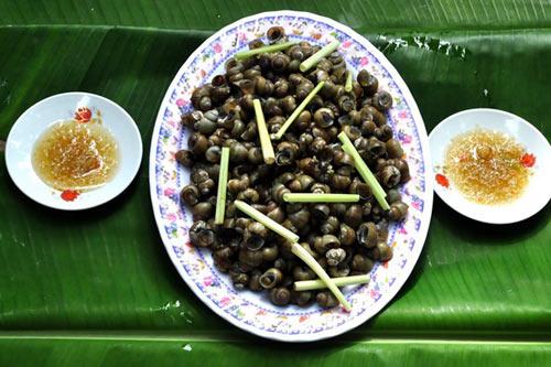 Ngon lạ lùng ốc gạo Phú Đa - 4
