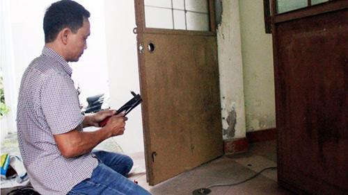 Thông tin mới nhất vụ trộm đột nhập UBND TP Tam Kỳ - 2