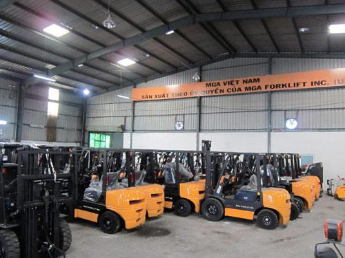 Xe nâng có nhà máy lắp ráp đầu tiên tại Việt Nam - 3