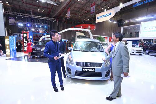 Việt Nam Suzuki giới thiệu mẫu xe Ertiga mới tại Motorshow 2014 - 1