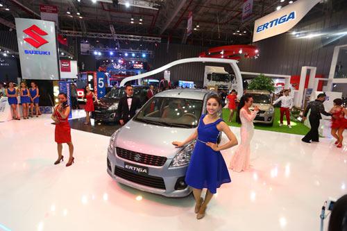 Việt Nam Suzuki giới thiệu mẫu xe Ertiga mới tại Motorshow 2014 - 3
