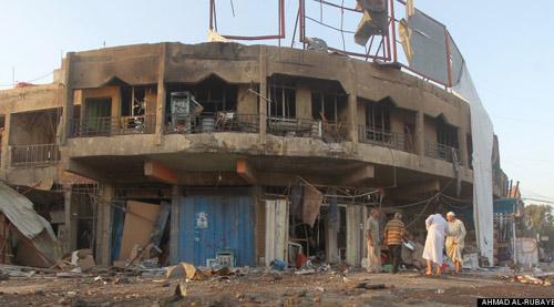 Thủ lĩnh cấp cao của IS bị tên lửa tiêu diệt - 1