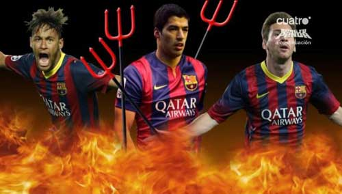 """Messi – Neymar – Suarez: """"Bộ ba nguyên tử"""" chờ kích hoạt - 2"""
