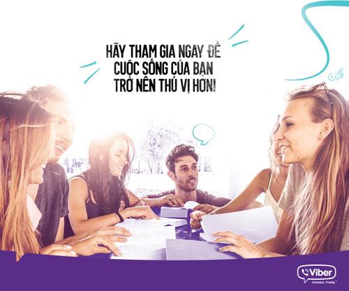 Viber chính thức tích hợp chức năng mới Public Chats trên Viber 5.1 - 2