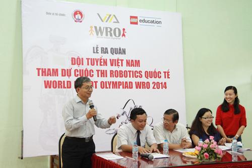 6 học sinh Việt tranh tài tại Olympic Robot Thế Giới - 3