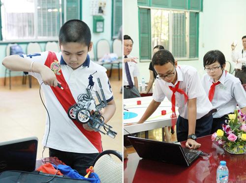 6 học sinh Việt tranh tài tại Olympic Robot Thế Giới - 5