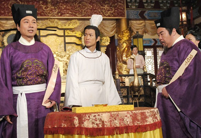 """Sao Hồng Kông đấu trí trong phim """"Thời thế tạo vương"""" - 1"""