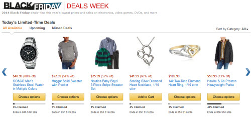 """Amazon đang vào mùa bán hàng giảm giá """"khủng"""" - 1"""