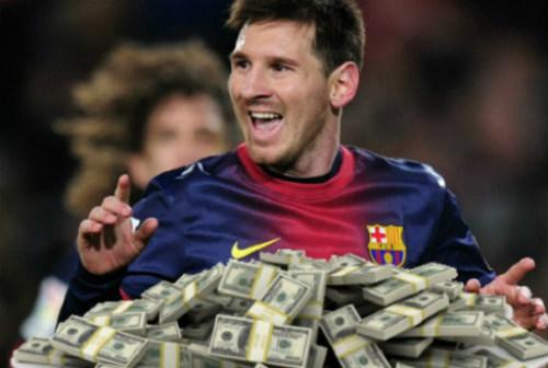 """Phí chuyển nhượng """"khủng"""" sẽ giúp Barca níu chân Messi - 1"""