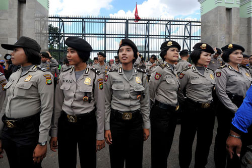 Vì sao nữ cảnh sát Indonesia phải kiểm tra trinh tiết? - 4