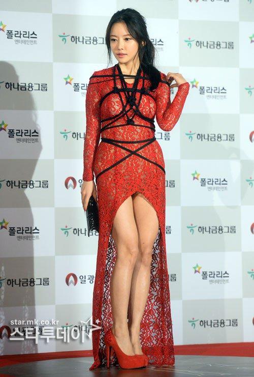 Kiều nữ Hàn khoe vẻ đẹp mướt mắt công chúng - 6