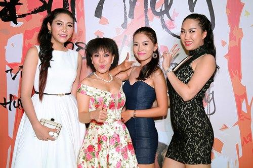 Việt Hương khoe tóc mới, đọ dáng cùng Phi Thanh Vân - 2