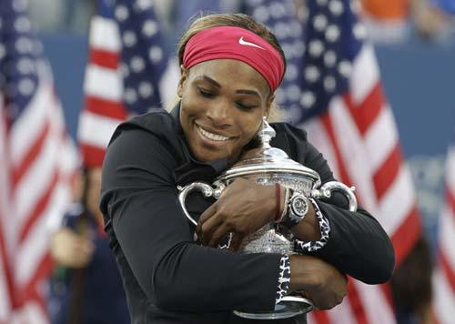 """Serena đoạt giải """"nữ hoàng làng banh nỉ 2014"""" - 1"""