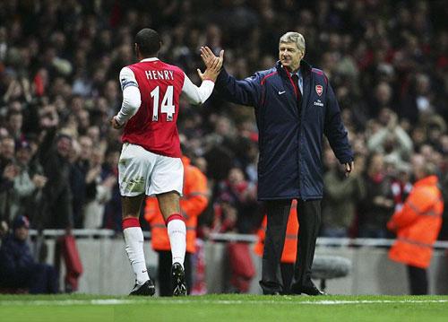 Arsenal-Wenger sẵn sàng lần thứ 3 tái ngộ Henry - 1