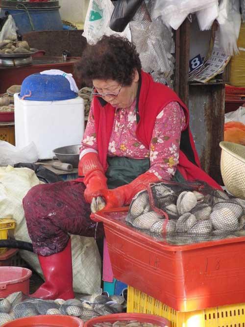 Đến thăm chợ hải sản Jagalchi nổi tiếng xứ Hàn - 3