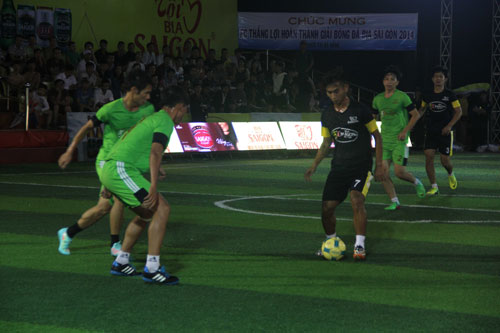 """Giải bóng đá Cúp Bia Sài Gòn 2014:  Cuộc đua của """"sao"""" phong trào - 1"""