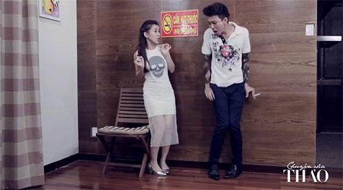 Clip hot girl Ngọc Thảo nói về đàn ông đích thực - 1