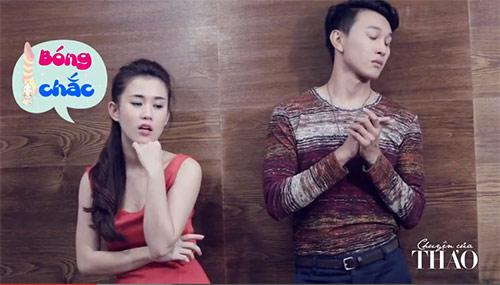Clip hot girl Ngọc Thảo nói về đàn ông đích thực - 2
