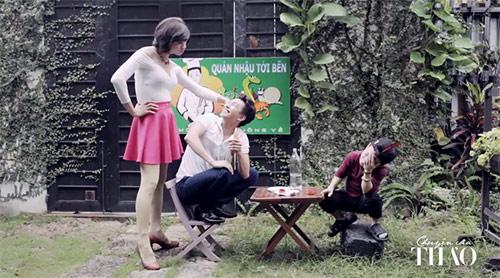Clip hot girl Ngọc Thảo nói về đàn ông đích thực - 4
