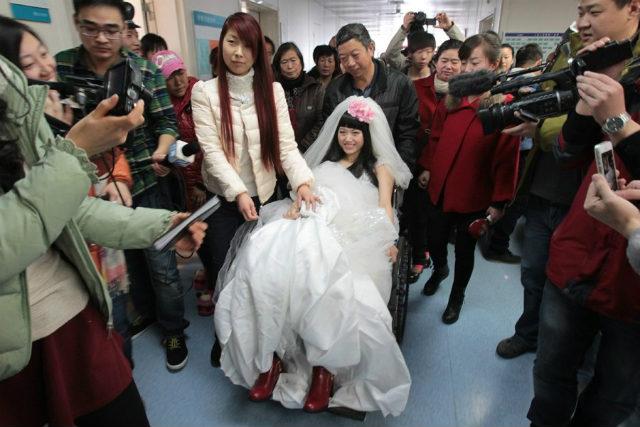 Rơi nước mắt đám cưới của cô dâu mắc bạo bệnh - 6