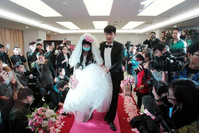 Rơi nước mắt đám cưới của cô dâu mắc bạo bệnh - 7