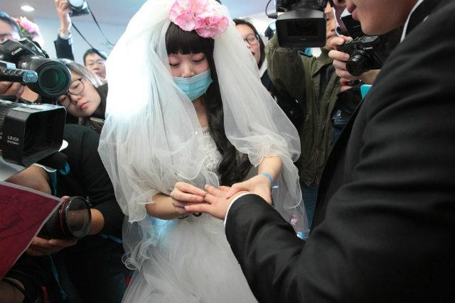 Rơi nước mắt đám cưới của cô dâu mắc bạo bệnh - 8