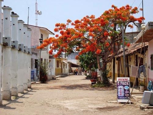 Ghé thăm ngôi làng trên hòn đảo nhân tạo ở Mexico - 3