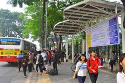 Dỡ bỏ trạm xe buýt lớn nhất Thủ đô, xây nhà ga số 8 - 12