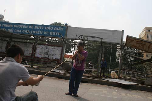 Dỡ bỏ trạm xe buýt lớn nhất Thủ đô, xây nhà ga số 8 - 7
