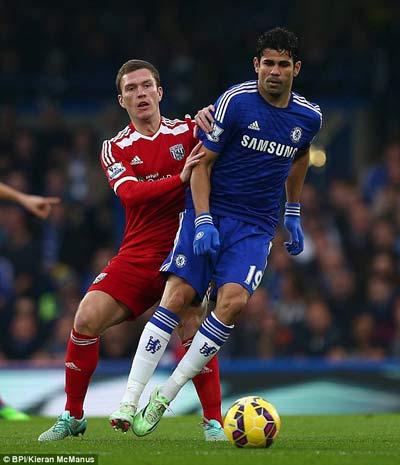 TRỰC TIẾP Chelsea - West Brom: Dễ như trở bàn tay (KT) - 5