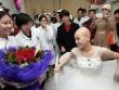 Rơi nước mắt đám cưới của cô dâu mắc bạo bệnh
