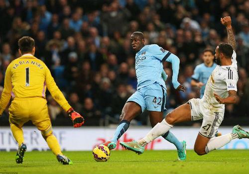 Man City - Swansea: Kiên cường chống trả - 1