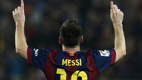 Barca - Sevilla: Vinh danh Messi - 1