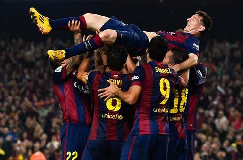 Lập hattrick, Messi ghi bàn vĩ đại nhất Liga - 1