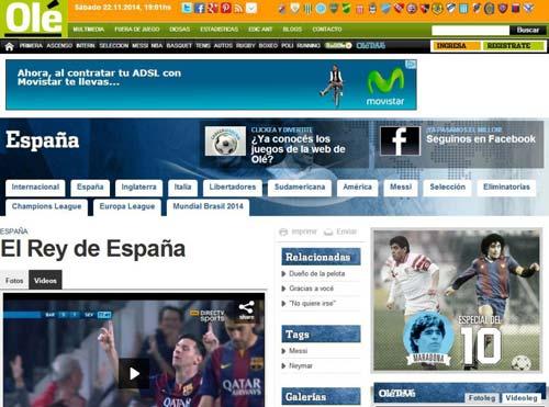 Messi: Vì anh là số 1 - 2