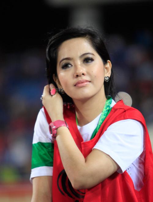 Vẻ đẹp cuốn hút của PV thể thao Indonesia tại Việt Nam