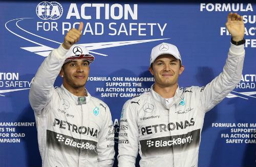 F1 - Phân hạng Abu Dhabi: Rosberg nuôi hy vọng - 1