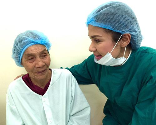 Việt Trinh hết lòng làm từ thiện nhân dịp sinh nhật - 3