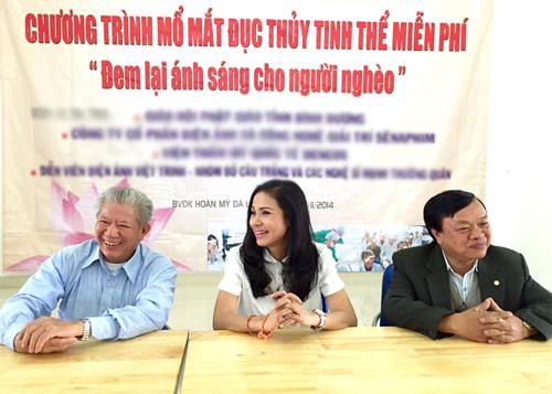 Việt Trinh hết lòng làm từ thiện nhân dịp sinh nhật - 2