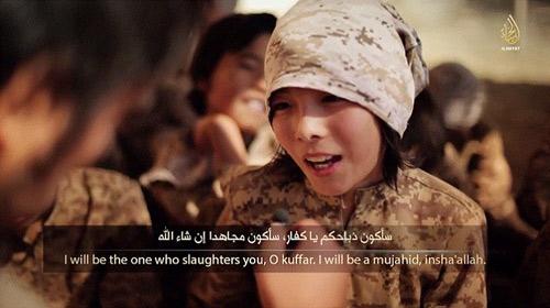 IS tung video huấn luyện trẻ em chiến đấu - 5