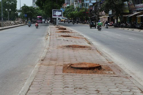Lại chặt cây để làm đường sắt Nhổn – Ga Hà Nội - 1