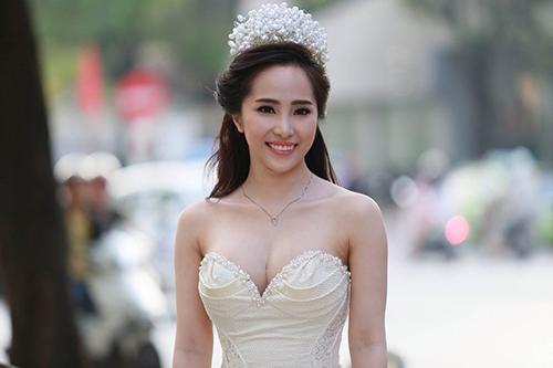 Quỳnh Nga, Doãn Tuấn rạng rỡ trong ngày cưới - 5