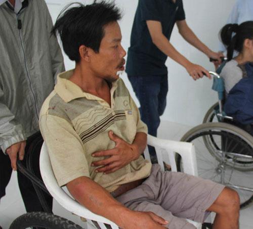 Điều tra vụ chủ bè cá bị nhóm côn đồ đánh dã man - 1