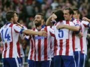 Atletico - Malaga: Bản lĩnh nhà vô địch