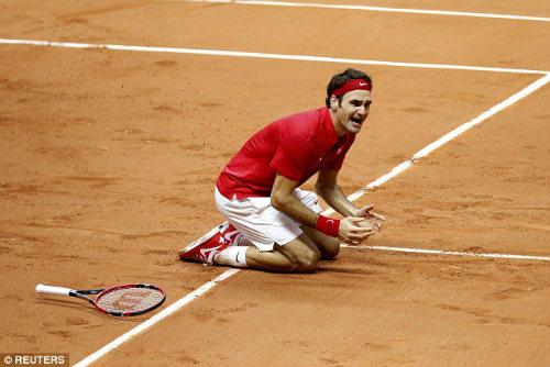 Federer khiêm tốn về chiến công tại Davis Cup - 2