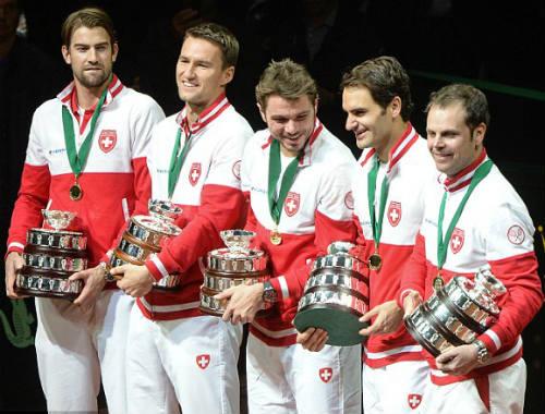 Federer khiêm tốn về chiến công tại Davis Cup - 3